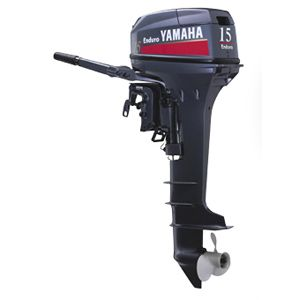 Island Water World Yamaha Outboard Motor 2 Stroke S Enduro 15 Hp