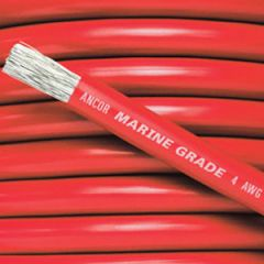 Battery Cable Tinned Copper 1 AWG Red