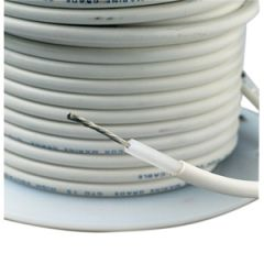 High Voltage Cable GTO 15 14 AWG For Ham & SSB White