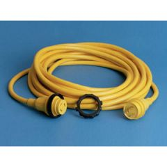 Shore Power Cord Plus 30A 50 ft Yellow