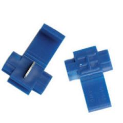 Spade Adapter Tinned 2 Male to 1 Female 5/pk