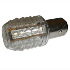 Single Contact Bayonet Bulb BA15S 16 LED 360 Degree12V