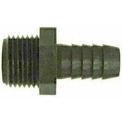 """Reducing Connector NPTM x Barb PVC 1 1/2"""" x 1"""""""