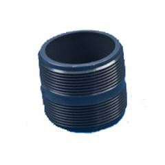 Pipe Nipple PVC Black 1""