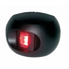 Port LED Navigation Light Series 34 Red Side Mount Black Housing