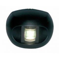 Stern LED Navigation Light Series 34 White Transom Mount Black Housing