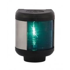 Starboard Navigation Light Series 40 Green Pedestal Mount
