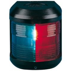 Bi Color Navigation Light Series 41 Red & Green Side Mount Black Housing