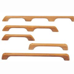 Handrail Teak 2 Grip 58 cm x 6 cm x 2.5 cm
