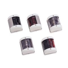 Stern LED Navigation Light White Angle Housing
