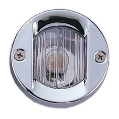 Stern Navigation Light White Stainless Steel Flush Mount