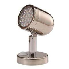 LED Polishes Stainless Steel Reading Light 8-30V