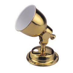 LED Reading Light Warm White Brass 12V