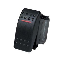 Switch Splashproof 5P DPDT w/LED Indicators 15A 12V