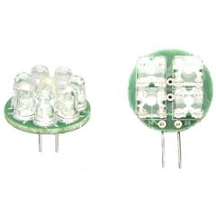 Back Pin Bulb G4 8 LED Cool White 1W 30 Degree 12V