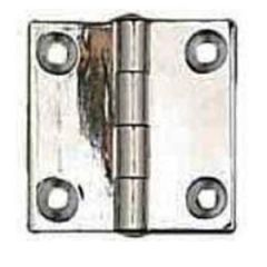 Butt Hinge 304 Stainless Steel 2 x 1 3/4""