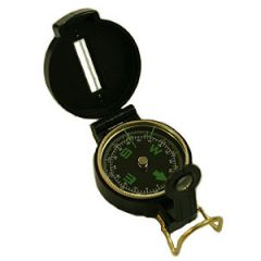 Hand Bearing Compass Black w/Case