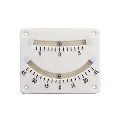 Clinometer White Plastic 45 Degree