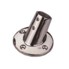 Round Base Tube Fitting 316 Stainless Steel 60 Degree 22 mm