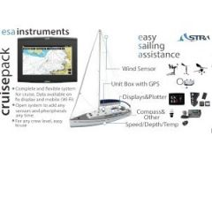 Esa Instruments Cruise Pack w/Transducers, Display, Compass & ESA Box