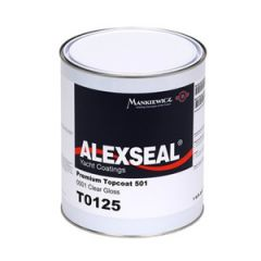 Alexseal Topcoat Polyurethane 501 Oyster White qt T9128