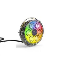 12v Colour Change LED Underwater Light, Piranha P6 Surface Mount