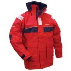 Offshore Pacific Jacket Breathable Red & White LRG