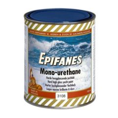 Monourethane Topcoat One Part Bright Red 750 ml