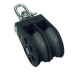 Double Reverse Shackle Block S6 Ball Bearing 2000 kg