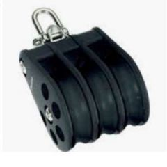 Triple Reverse Shackle Block S6 Ball Bearing