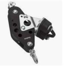 Fiddle Swivel Block S7 Ball Bearing w/Becket & Cam 2500 kg