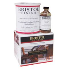 Bristol Finish Tradtional Amber Urethane Marine Wood Finish, Quart Kit