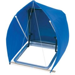 "Windscoop Blue Fits Hatches 17""-20"" MED"