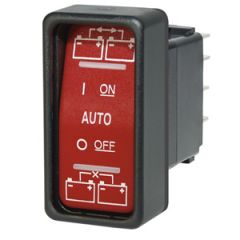 SPDT Remote Control Contura Switch, On-Off-On