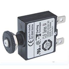 7A Panel Mount Push Button Quick Connect Circuit Breaker
