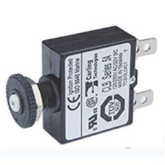 20A Quick Connect Series Circuit Breaker w/Black Push Button Reset