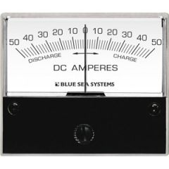DC Analog Ammeter w/Shunt 0 To 50A