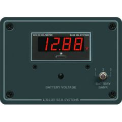 Digital Voltmeter Panel 7 To 60V