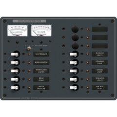 DC Panel w/Ammeter 13 Position 12V