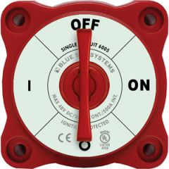Mini Battery On OFF Switch w/Key m-Series Red