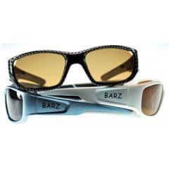 Floater Floating Polarised Sunglasses White Frame w/Amber Lens