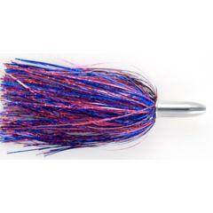 "Billy Baits Mini Turbo Slammer Lure Blue-Fuchsia/Pink 5.5"" 5/8oz"