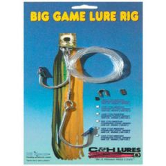 C&H Big Game Lure Rig Two Mustad 7732 8/0 SS Hooks