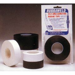 Rubbaweld Self Amalgamating Tape Black 25 mm x 5 m