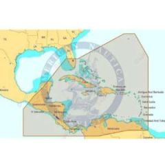 C-Map 4D NAD065 4D Full Central America & The Caribbean