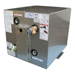 Water Heater Square Front/Back Mount w/Heat Exchanger 120V 6 gal