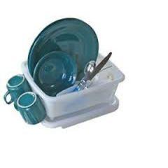 Mini Dish Drainer w/Tray Heavy Duty