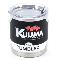 Tumbler w/Lid 12 oz Stainless Steel