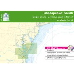 Chesapeake Bay South Chart Reg. 5.2 w/Pilot Book, CD & App