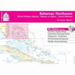 Bahamas Northwest Chart Reg. 9.1 w/Pilot Book, CD & App